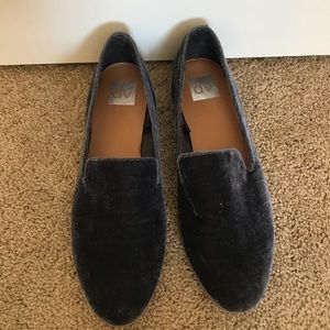 DV Velvet Loafers